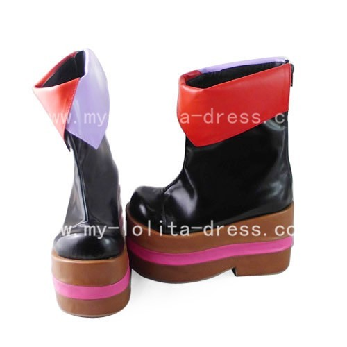 Beautifu Colourful Vocaloid Megurine Luka Kimono Boots