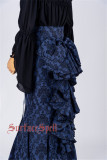 Surface Spell ~Nyx Gothic Lolita Fishtail Skirt Custom-tailor Available