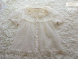 The Crescent Moon And The Sea~ Sweet Summer New Version Lace Blouse