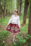 Fleurs et écho~ Sweet Lolita Blouse