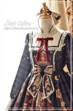 Dear Celine ~Little Red Riding Hood and Mr. Wolf Lolita OP -Ready Made