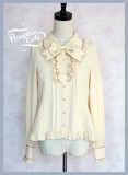 Pumpkin Cat Chiffon Long Sleeves Lolita Blouse