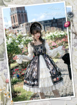Avene Denfer Peri's Workshop Lolita Dress -Ready Made