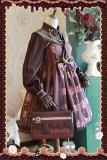 Chocolate Trojan*** Dailywear Version Mini Lolita Jumper Dress Dark Coffee Size L - In Stock