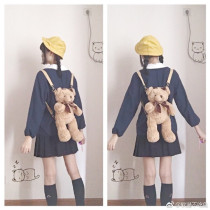 Lovely Sweetheart ~ Little Bear Lolita Backpack - Ready Made