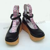 Black Classic Platform Lolita Shoes