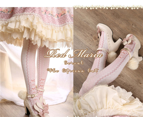Several Cats ~ Sweet Lolita Tights