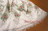 Surface Spell Dancing Roses Embroidery Skirt
