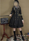 Your Highness ~The Oath Of The Judge~ Dark Knight Military Lolita Fullset -Pre-order