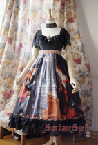 Surface Spell ***L'annonce faite a marie*** Gothic Lolita OP Dress