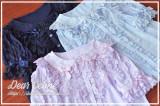 Dear Celine ~Polka Dotts Dance~Summer Lolita Short Blouse -Ready Made