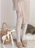 Elegant Vintage Lace Hollow-out Jacquard Lolita Tights