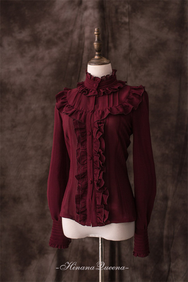 The Star Prophecy~ Chiffon Lolita Blouse-Pre-order