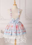 Strawbery Witch ~Blueberry Fruit~ Lolita Skirt