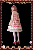 Strawberry Thousand Layer~ Sweet Lolita Jumper - In Stock