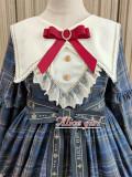 Alice Girl ~Gingham Teddy Lolita OP -Pre-order