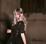 The Dead Serenade~ Gothic Lolita JSK Dress With Detachable Hood