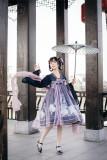 Epiphyllum Jellyfish Qi Lolita Dress Version I -Ready MADE