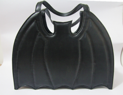 Bat Shape Gothic Punk Black Lolita Handbag