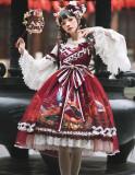 Nine Ode ~Carp Fantasy of Western Island Lolita JSK -Pre-order