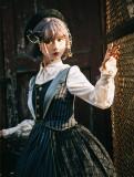 Rabbit Teeth ~The Girl Who Skip Class Lolita Dress Black L In Stock