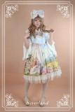 Neverland Lolita ~The Song of The Lark~ Sweet Vintage Lolita Jumper Dress
