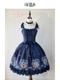 Book Before Sleeping~ Classic Lolita Printed JSK