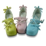 Tiny Bows Princess Lolita Sandals