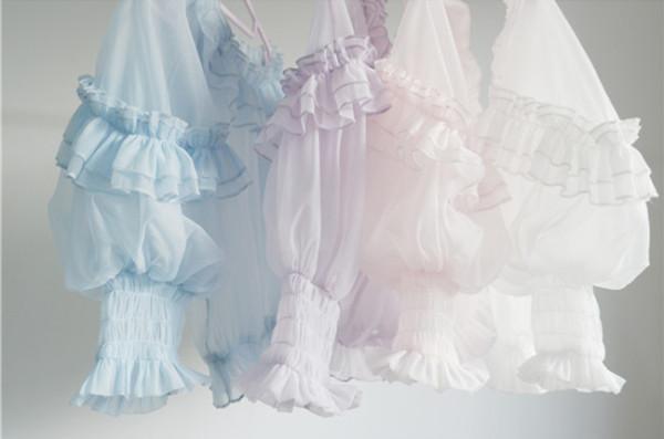 BabySong~ Summer Organza Lolita inner blouse