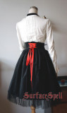 Surface Spell Judgement Day Embroidery High Waisted Skirt-In Stock