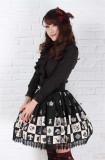 Alice's Chess Grid Lolita Skirt