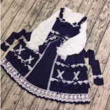 Little Dipper Cream Crispy~ Classic Lolita JSK Dress -Ready Made