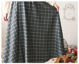 Mori Girl~ Vingtage Gingham Lolita Long Sleeves OP