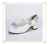 Angelic Imprint- Beautiful Sailor Style Single Belt Square Heels Lolita Shoes
