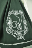 Anna's Secret ~Magic Academy.Hogwarts~ Embroidery JSK Wine&Gold Embroidery XXL