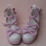 Sweet Two Colors Girls Lolita Sandals