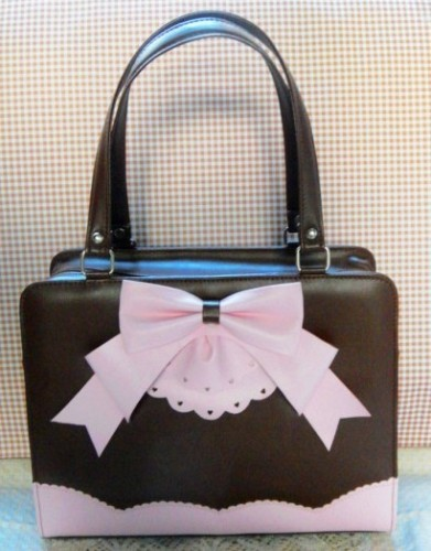 Loris Cake Bow Handbag for Lolita Fashion