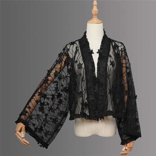 Magic Tea Party ~Kimono Style Lolita Blouse/Bolero/Accessories -Ready made