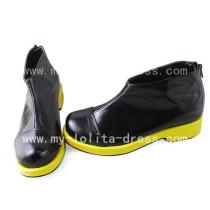 Gothic Black Vocaloid Akita Neru Shoes