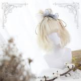 Dalao Home ~Iris ~ Sweet Cream White Lolita Short Wigs