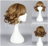 Girl's Sweet Lolita Short Curls Wig