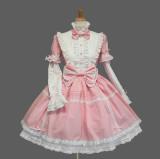 Gothic Built-in Sleeves Lolita OP Dress