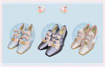 Windsor Manor - Margaret Tea Party Vintage Lolita Shoes -Pre-order