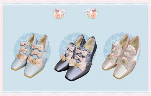 Windsor Manor - Margaret Tea Party Vintage Lolita Shoes -Pre-order