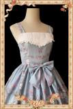 Infanta Meow Rabbit Tea Party Lolita JSK -Ready Made
