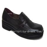 Classic Black Platform Shoes