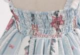 Dream In the Cage~ Sweet Lolita OP/JSK Wine JSK Size S - in Stock