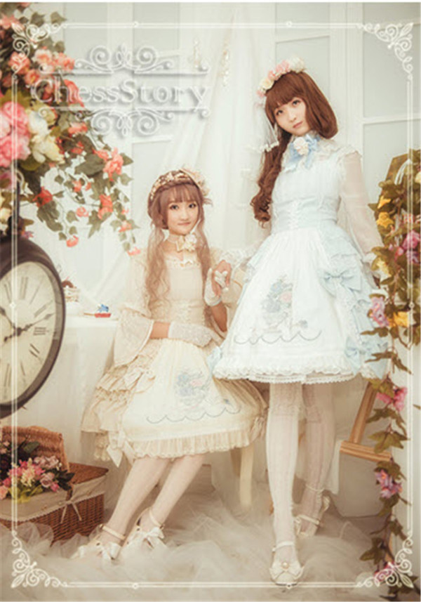 Chess Story -Camellia *  Full of Flowers In The Garden- Lolita JSK Dress