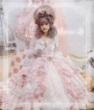 Elpress L ~Cloris Luxury Elegant Lolita OP Payment Plan Available -Ready Made