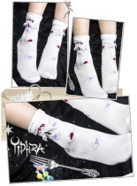 The Mysterious Cards- Lolita Short Socks